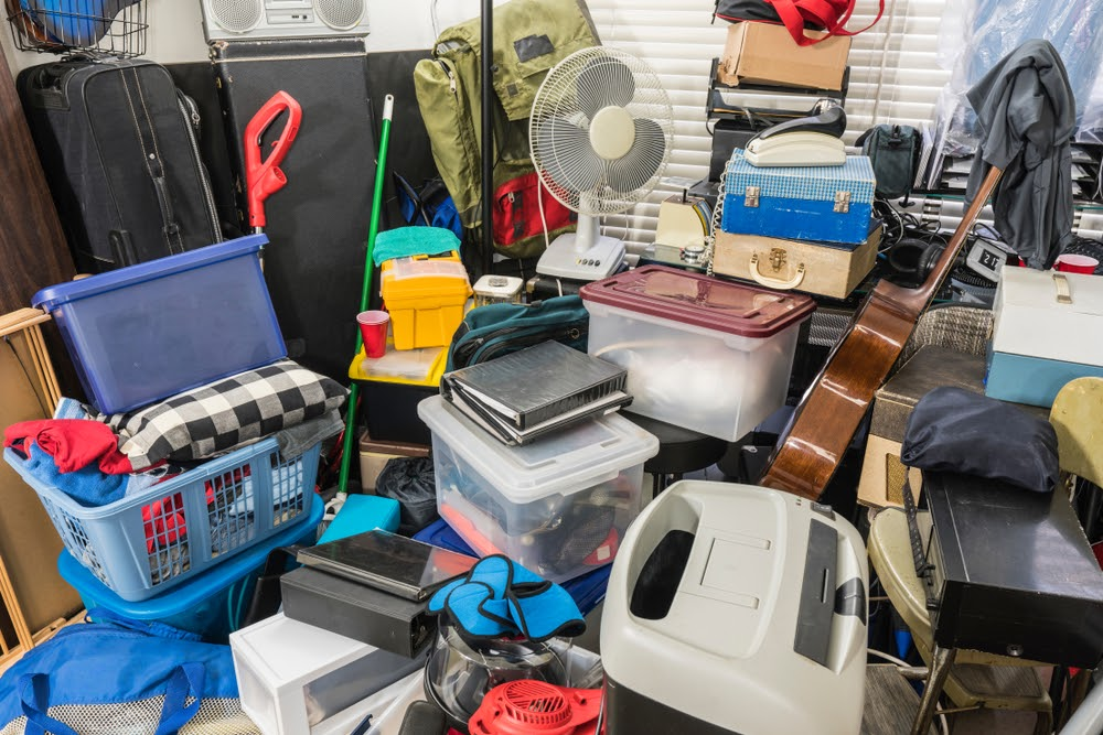 what are the different levels of hoarding?